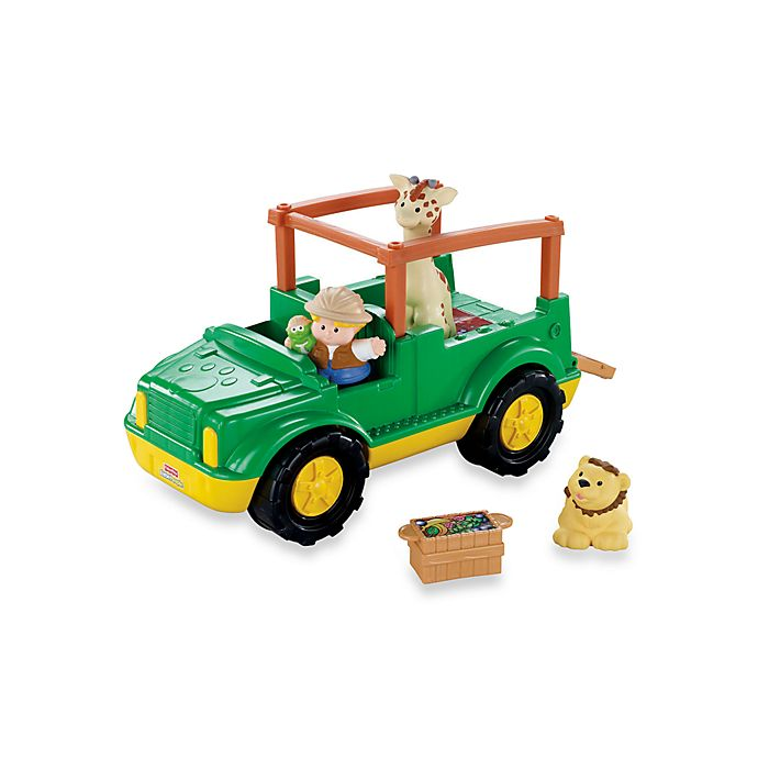 Fisher Price Little People Zoo Talkers Animal Sounds Safari Truck Buybuy Baby