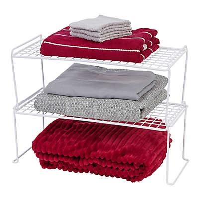 Bed Bath Beyond Wire Shelving | Wire Stacking Shelves Bed Bath Beyond