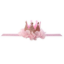 Elly & Emmy Tulle Tiara Headwrap in Pink
