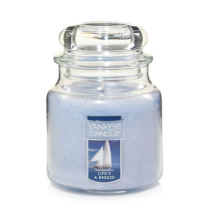 Alternate image 1 for Yankee Candle® Housewarmer® Life's a Breeze Medium Jar Candle