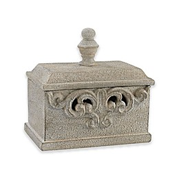 Sterling Industries Sigil Decorative Box in Stone