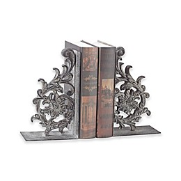 Sterling Industries Whitton 2-Piece Bookend Set in Rust