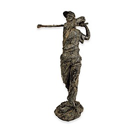 Sterling Industries Old Tom Morris Golf Sculpture in Rust