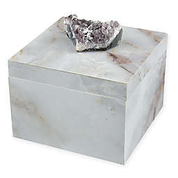 Sterling Industries Ekaterina Decorative Box in Grey