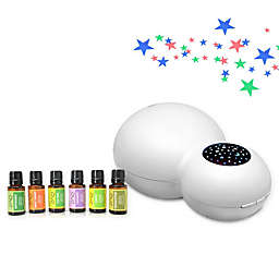 ZAQ Kids' Sky Projector/Essential Oil Diffuser with 6-Piece Aromatherapy Oils Set