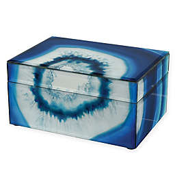 Sterling Industries Marara Jewelry Box in Blue