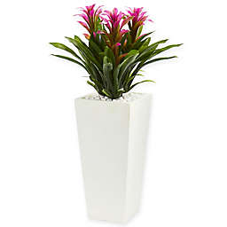 Nearly Natural 26-Inch Triple Bromeliad Artificial Plant