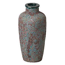 Emissary Reef 8.5-inch x 20-Inch Jar in Brown/Blue