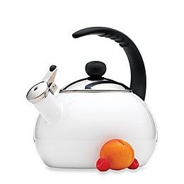 Farberware® Luna 2.5-Quart Tea Kettle in White
