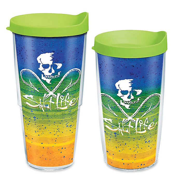 Alternate image 1 for Tervis® Salt Life Electric Skinz Wrap Tumbler with Lid