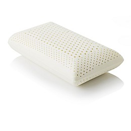 Malouf Z Zoned Dough Mid Loft Plush Queen Memory Foam Pillow