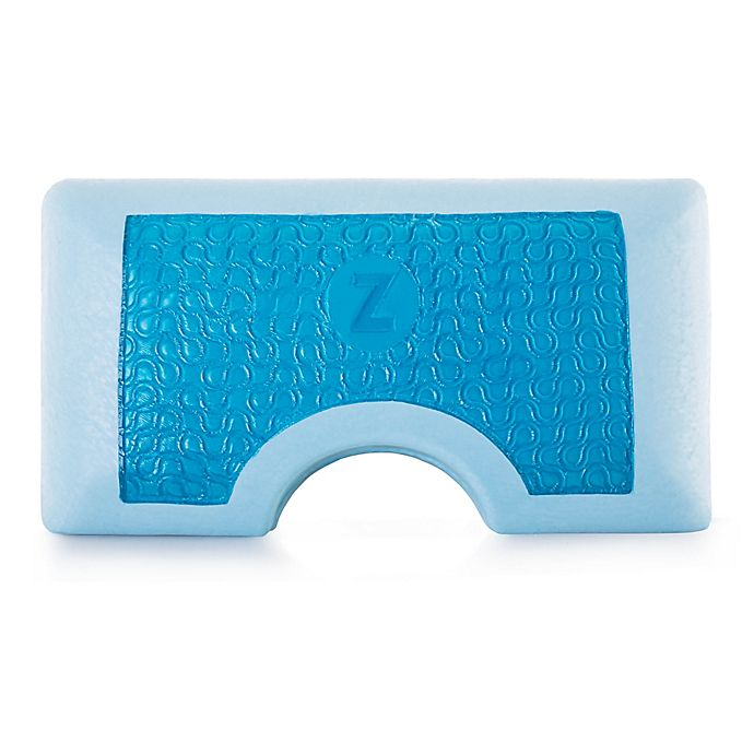 Alternate image 1 for Malouf™ Memory Foam Shoulder Cut King Side Sleeper Pillow in Blue