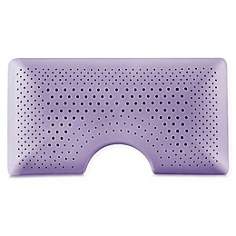 Malouf Shoulder Zoned Dough® Lavender Infused Memory Foam Bed Pillow