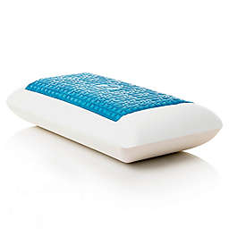 Malouf Medium Loft Zoned King Memory Foam Pillow