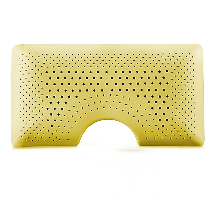 Alternate image 1 for Malouf Shoulder Zoned Dough® Chamomile Infused Memory Foam Bed Pillow