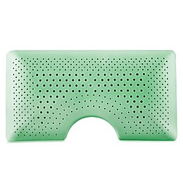 Malouf Shoulder Zoned Dough® Peppermint Infused Memory Foam Bed Pillow