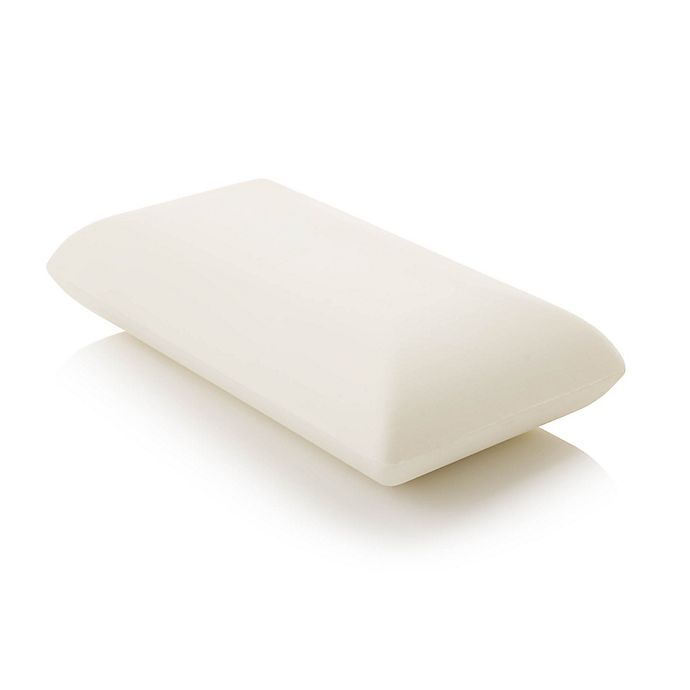 Alternate image 1 for Malouf Z Dough Low Loft Firm Queen Memory Foam Pillow