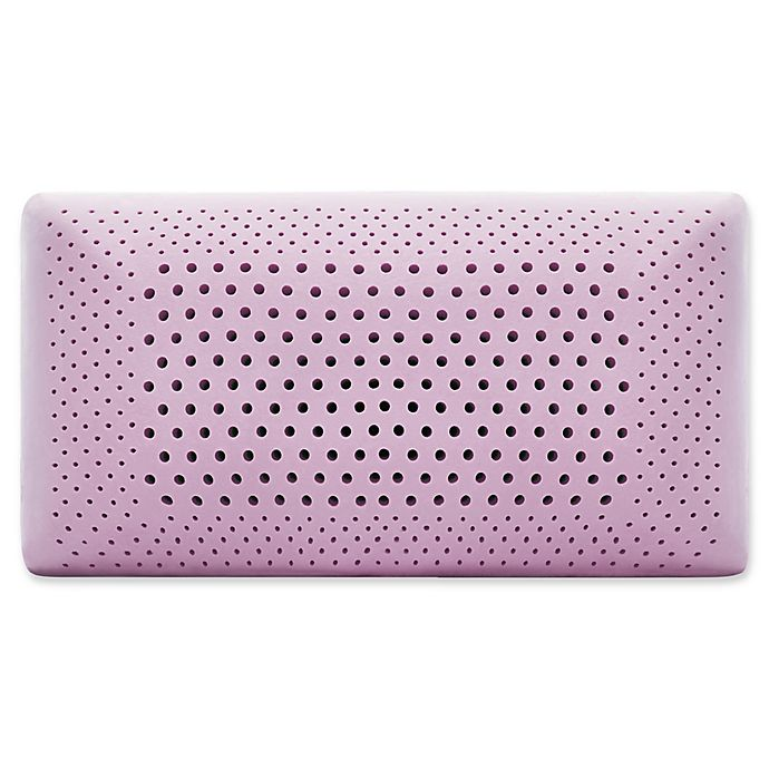 Alternate image 1 for Malouf™ Memory Foam Queen Pillow in Lavender