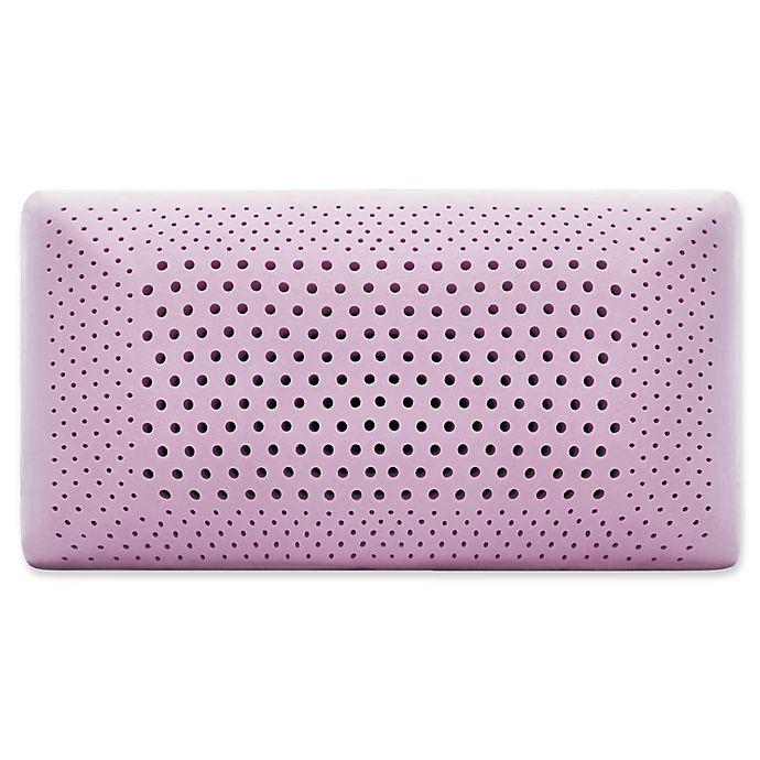 Alternate image 1 for Malouf™ Memory Foam Pillow in Lavender