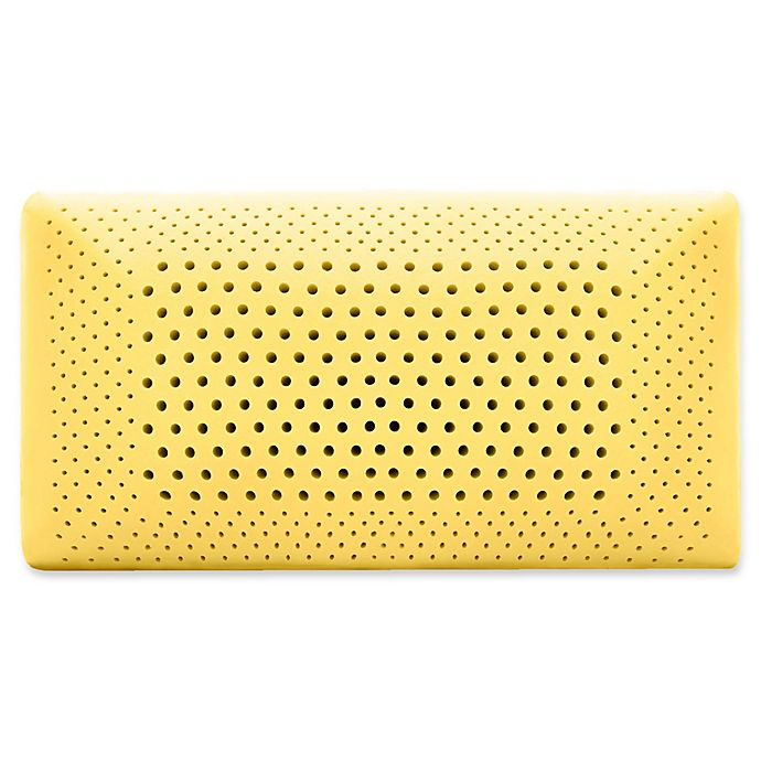 Alternate image 1 for Malouf™ Memory Foam Queen Pillow in Chamomile