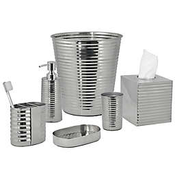 DKNY Corrugated Metal Bath Accessory Collection