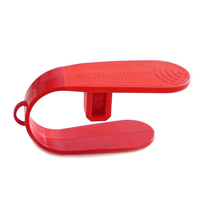 Alternate image 1 for UnbuckleMe Car Seat Buckle Release Tool in Strawberry