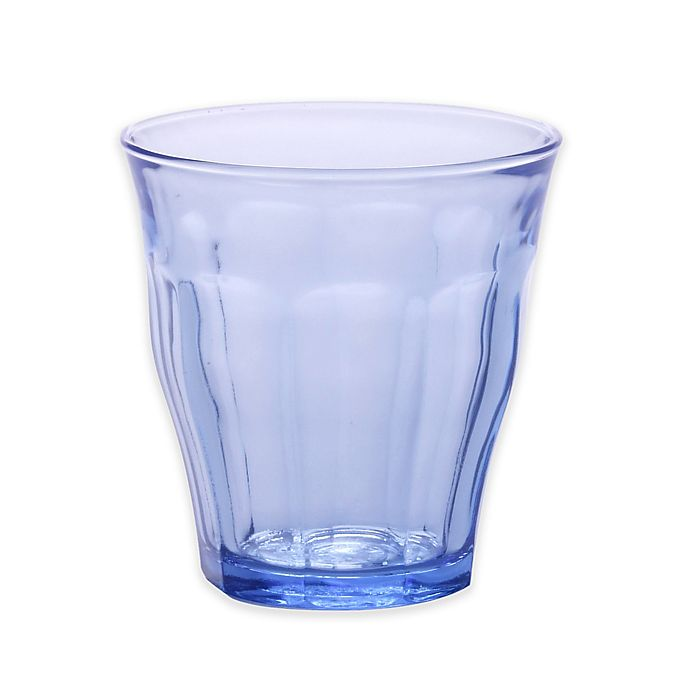Alternate image 1 for Duralex 7.75-Ounce Picardie Tumblers in Marine Blue (Set of 6)