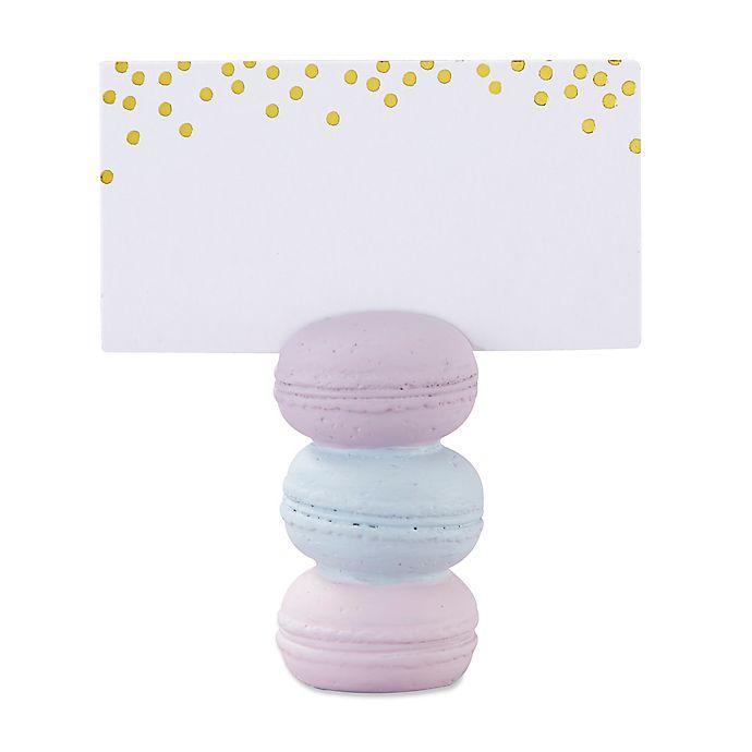 Alternate image 1 for Kate Aspen® 6-Pack Macaroon Place Card Holders