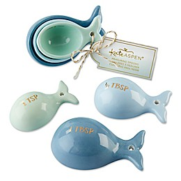 Kate Aspen® 6-Pack Whale Measuring Spoons