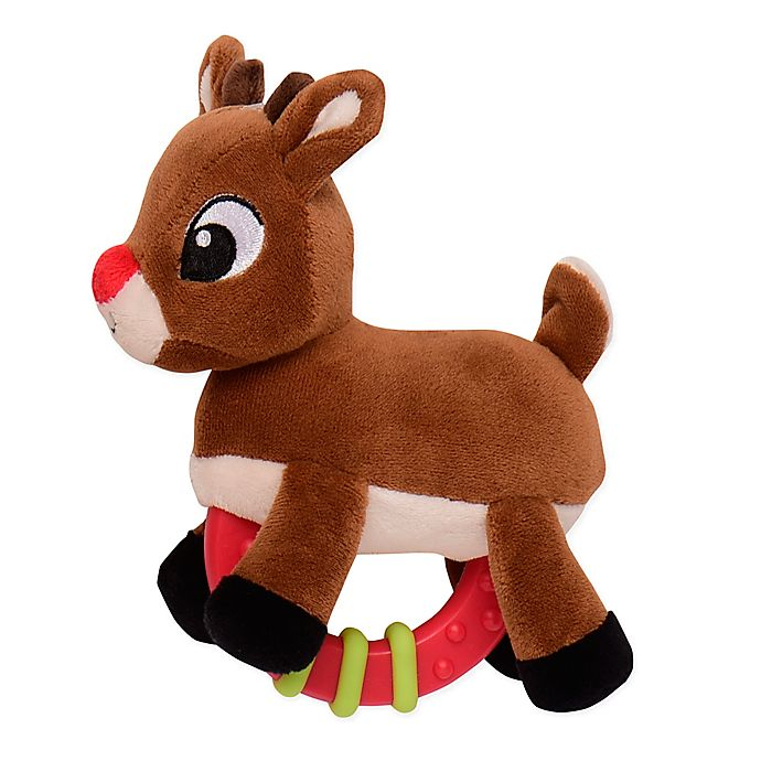 Alternate image 1 for Rudolph the Red Nosed Reindeer® Rudolph Rattle