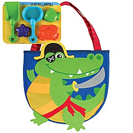 Stephen Joseph® Alligator Beach Tote in Green