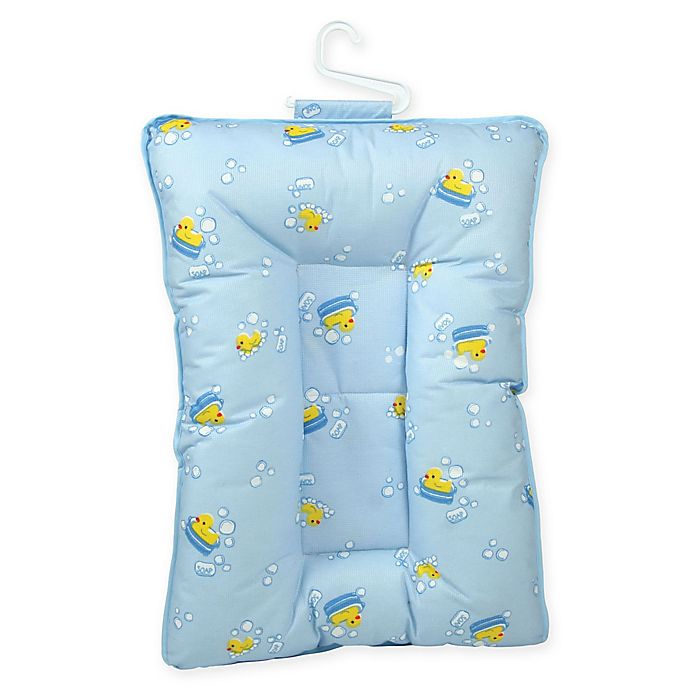 Alternate image 1 for Leachco® Comfy Caddy Baby Bather and Shower Caddy in Blue Ducks