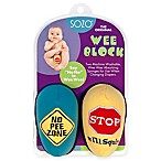 Sozo® Road Signs Weeblock 2-Pack in Blue/Yellow