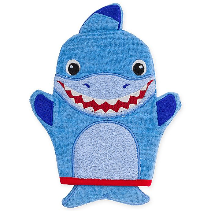 Alternate image 1 for Stephen Joseph® Shark Bath Mitt
