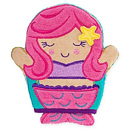 Stephen Joseph® Mermaid Bath Mitt in Pink