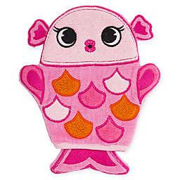 Stephen Joseph® Fish Bath Mitt in Pink