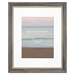 Bee & Willow™ Home 11-Inch x 14-Inch Matted Textured Wood Frame