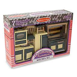 Melissa & Doug® Dollhouse Kitchen Furniture Set