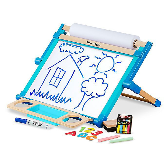 Alternate image 1 for Melissa & Doug® Double-Sided Magnetic Tabletop Easel