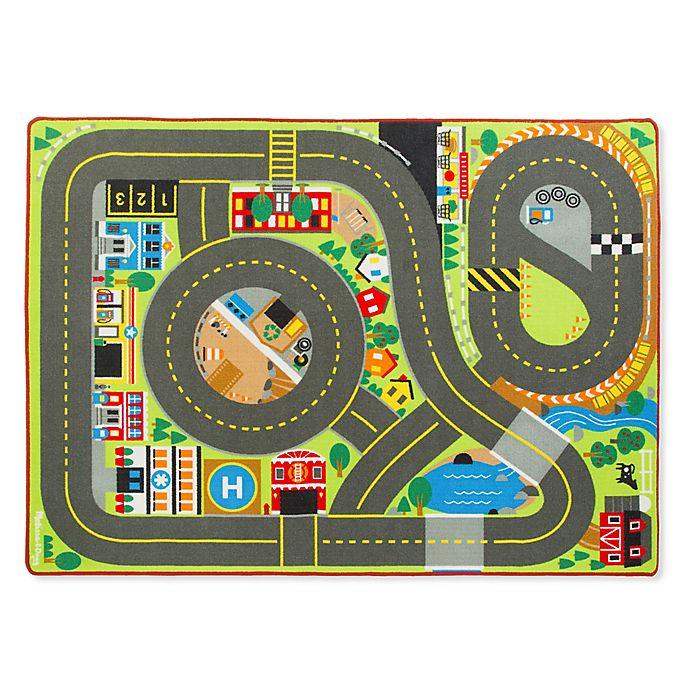 Alternate image 1 for Melissa & Doug® Jumbo Roadway Activity Rug