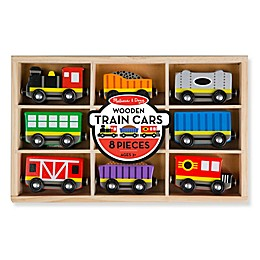 Melissa & Doug® Wooden Train Cars