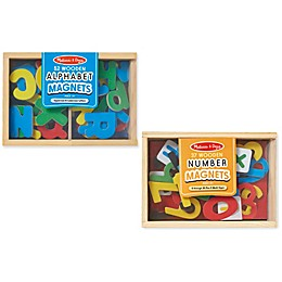 Melissa & Doug® Magnetic Letters & Numbers Bundle
