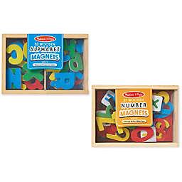 Melissa & Doug® Magnetic Letters & Numbers Bundle
