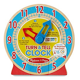 Melissa & Doug® Turn & Tell Clock