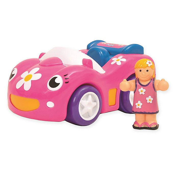 Alternate image 1 for WOW Toys® Dynamite Daisy Motorized Race Car in Pink