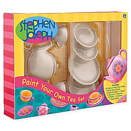 Stephen Joseph® Paint Your Own Tea Set