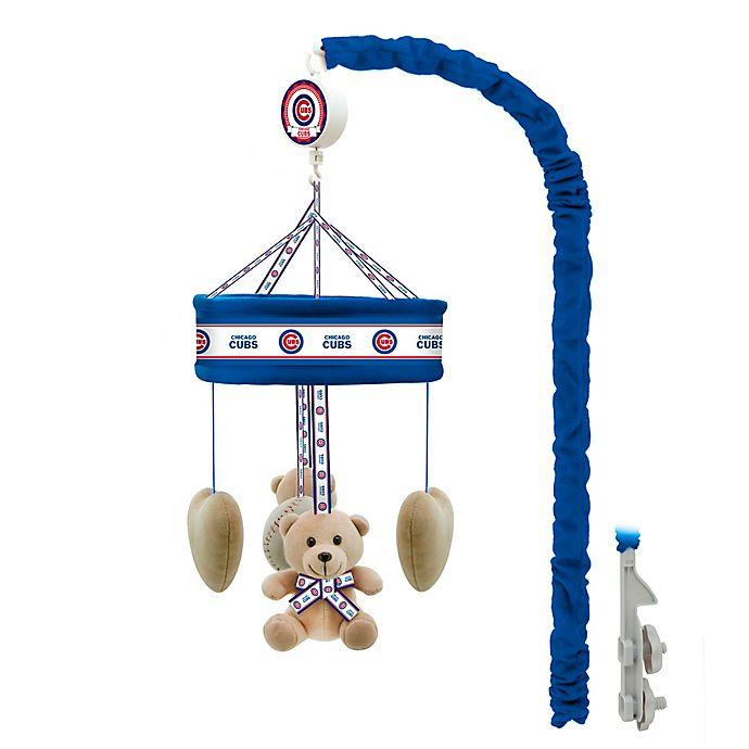 Alternate image 1 for MLB Chicago Cubs Musical Mobile