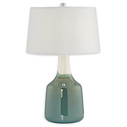Pacific Coast Lighting® 1-Light Kerra Ceramic Table Lamp in Jade Green
