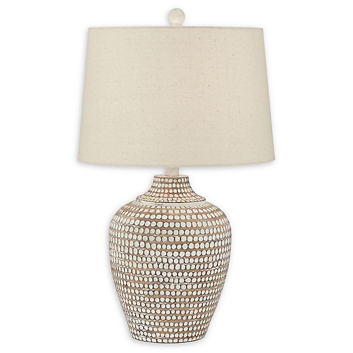 Alternate image 1 for Pacific Coast® Lighting Hammered Table Lamp in Earth