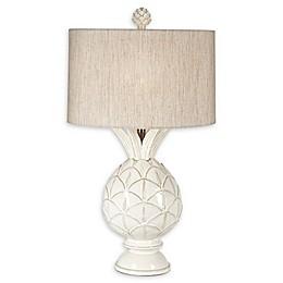 Pacific Coast® Lighting Pineapple Paradise Ceramic Table Lamp in Cream
